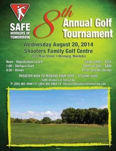 2014 golf poster